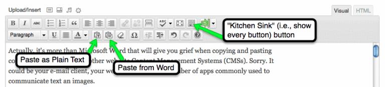 dear web site owner: Microsoft Word hates you