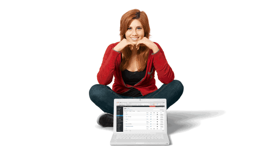 Woman kicking ass with WordPress