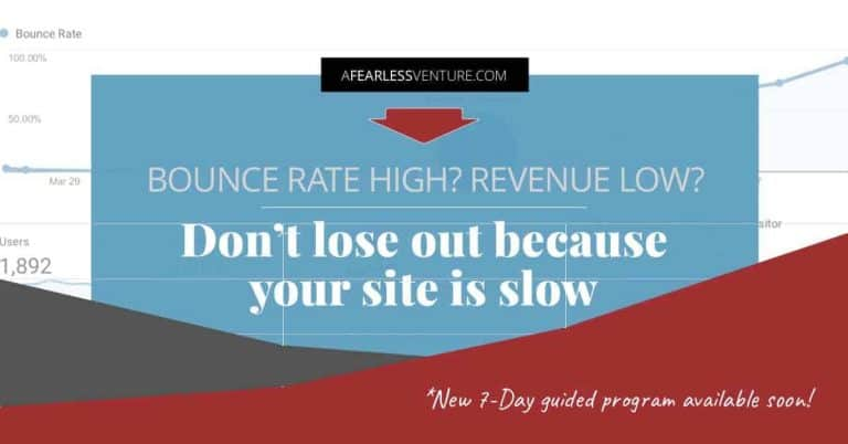 "High bounce rate, low revenue – what's a ""bloggerpreneur"" to do?"