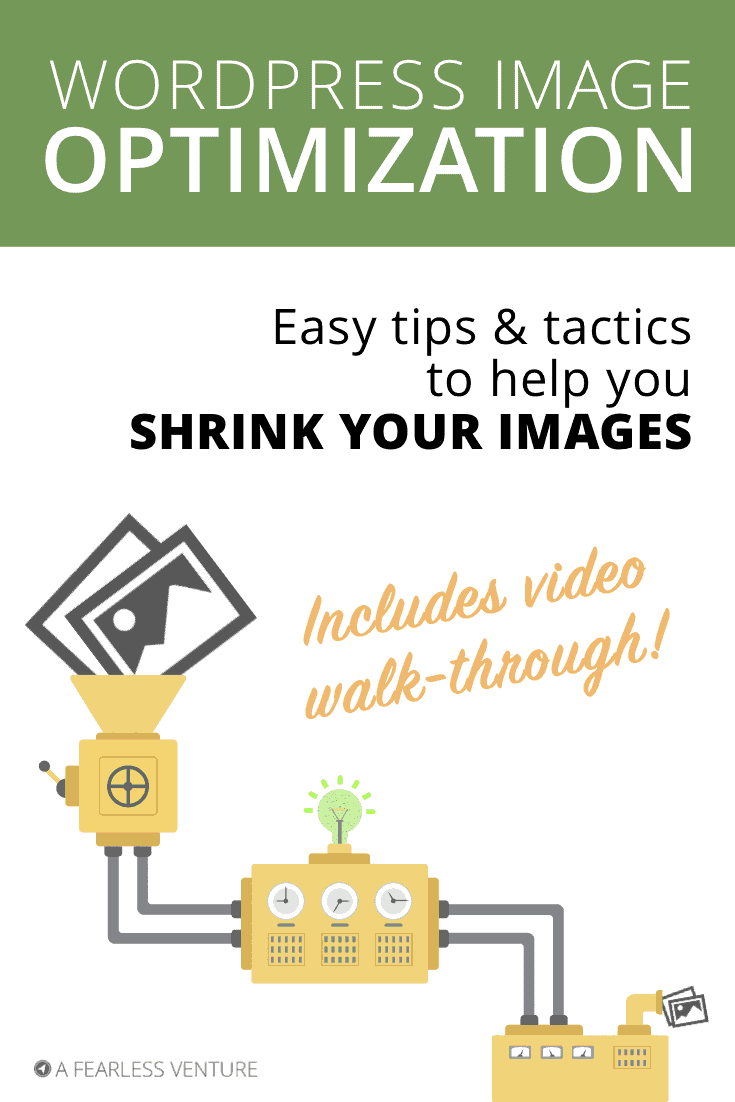 Tried an image optimization plugin but it didn't seem to help? All's not lost! Helpful tips & tactics + video to shrink your image sizes for speedier loading.
