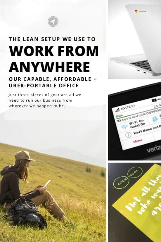 3 powerful, portable, do-it-all essentials we use to run our business from anywhere – without breaking the bank